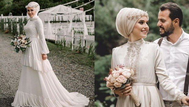 A Modern Take On Unique Hijab Bridal Gowns To Inspire Your