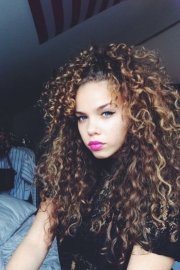 of curly-haired women