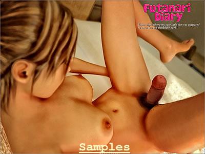 futanari anal ejaculation