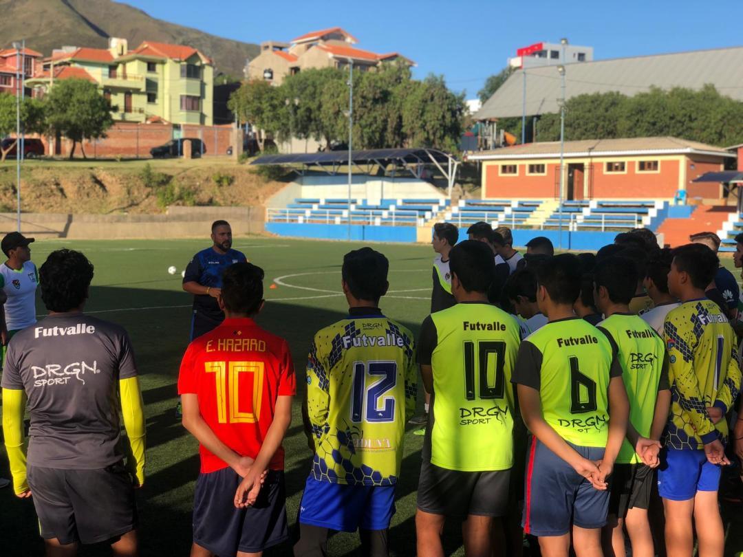 charla técnica previa a las pruebas futbalia
