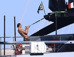 Zlatan Ibrahimovic Works Out On Yacht Despite Being On Holiday With Girlfriend Helena After Serie A Season Futballnews Com