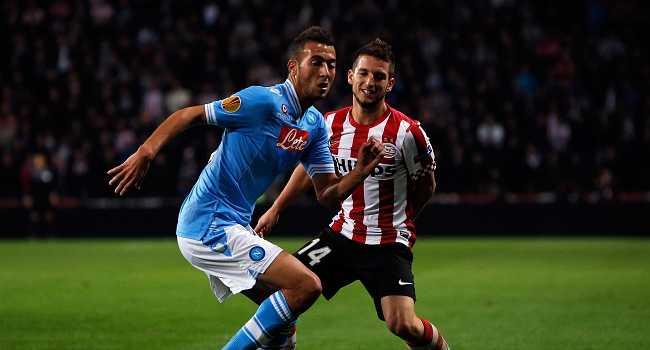 PSV Eindhoven v SSC Napoli - UEFA Europa League
