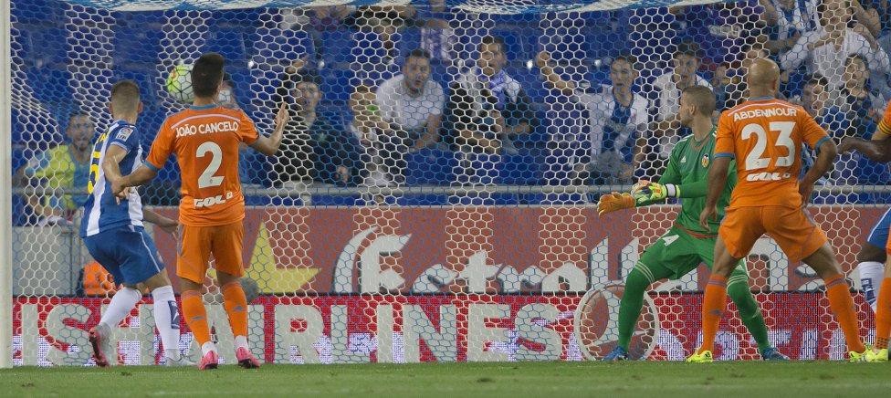 Espanyol-Valencia en imágenes
