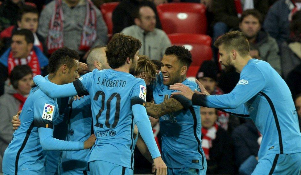 Athletic-Barcelona en imágenes