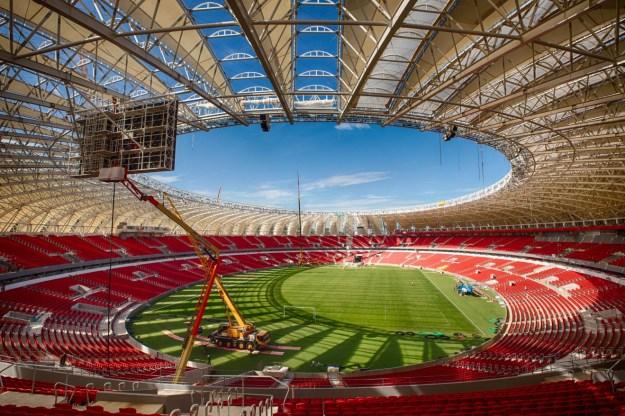 Estadio Beira-Rio, Porto Alegre. Foto: www.jornalnh.com.br