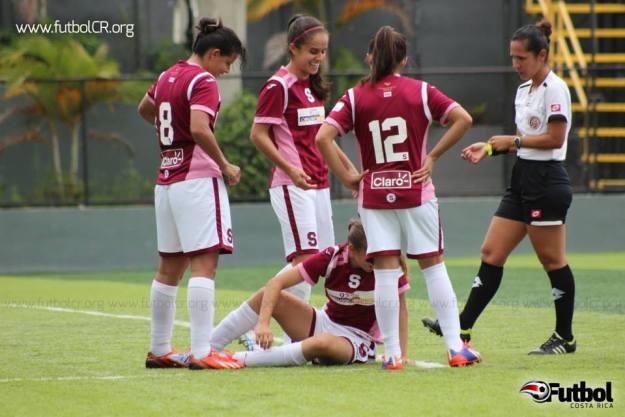 Las moradas se consolidan en el torneo Femenino con la mayor goleada del Torneo. Foto: Archivo