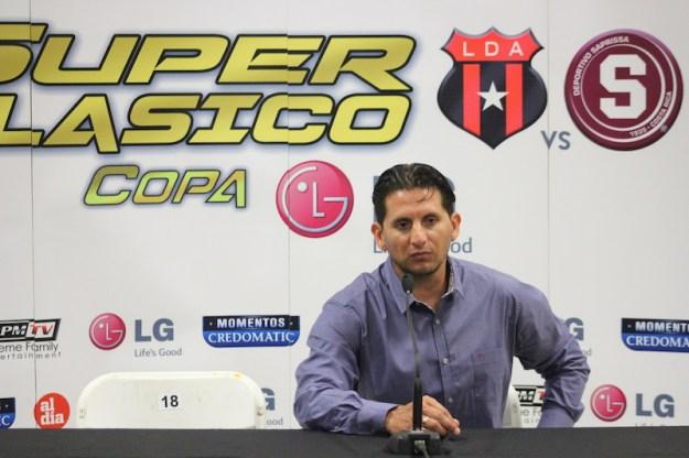 Rónald Gonzalez habló luego del Super Clásico ayer