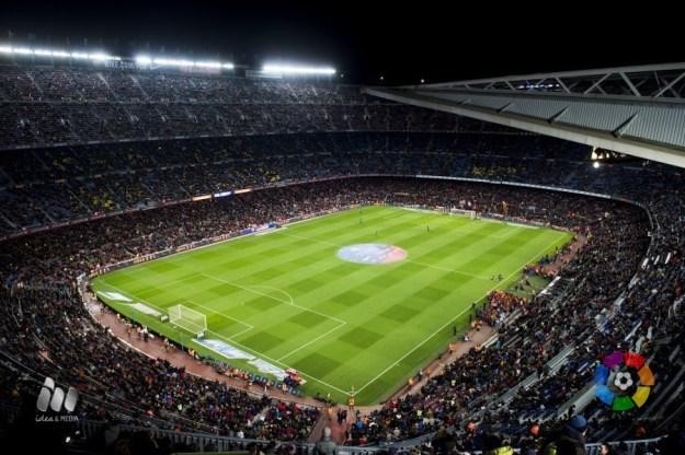 El Camp Nou de Barcelona, sede de El Clásico. Foto: LaLiga