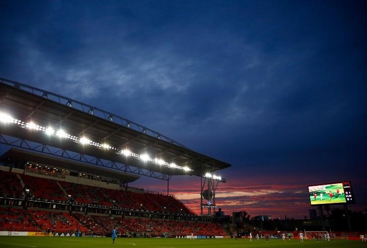 BMO Field albergando un juego entre Orlando City y Toronto FC (Fuente: Getty)