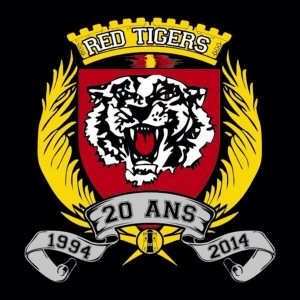 Logo de los Red Tigers