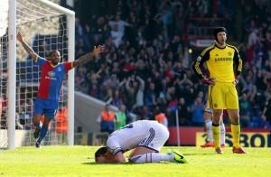 Terry se lamenta haber convertido el gol en su propio arco el sábado pasado frente al Crystal Palace