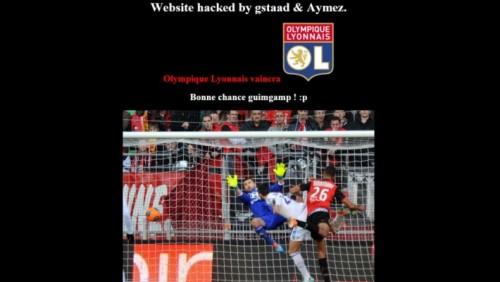 Lyon vencerá. Buena suerte Guingamp! citaba en la web.