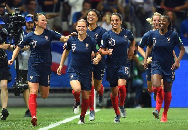 Mundial femenino selección francesa