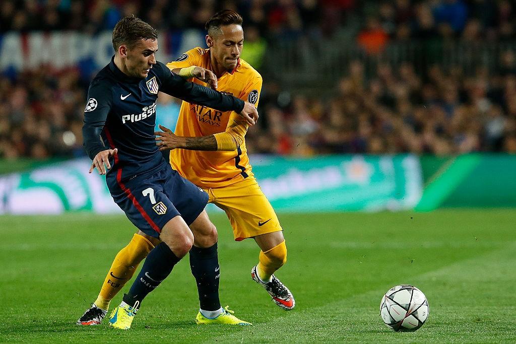 Griezmann Neymar