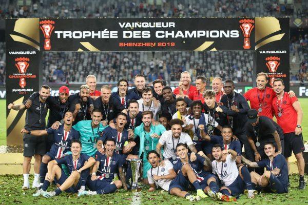 Neymar Trophée des Champions