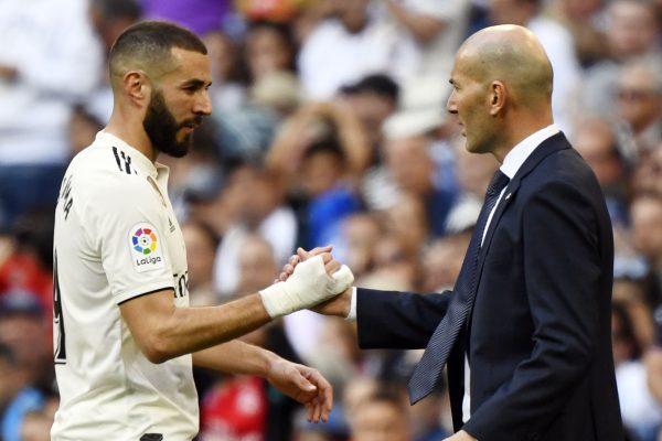 Benzema Zidane