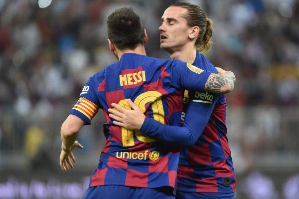 Messi Griezmann