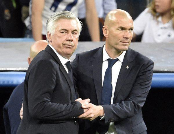 Zidane Ancelotti