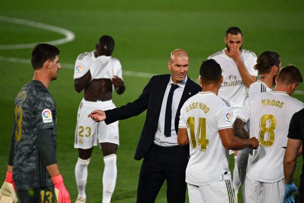 Courtois Zidane