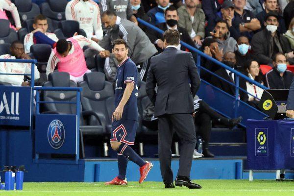 Messi y Pochettino problema
