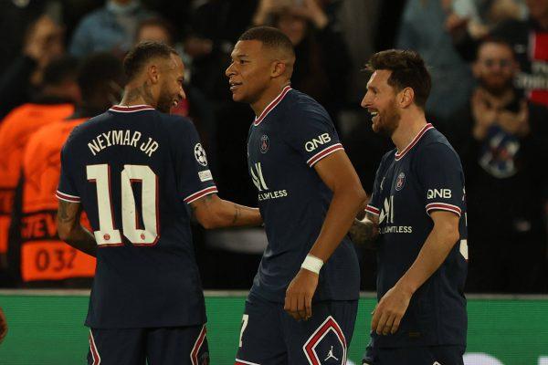 Mbappé, Messi, y Neymar