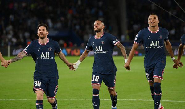 Mess, Neymar, Mbappé