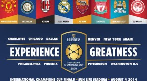 Resumen de la Guiness International Champions Cup