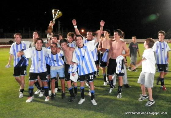Sub 15 de Atlético Florida, Campeón 2011