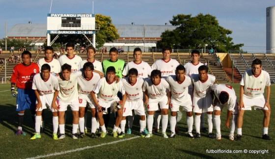 Sub 18 de Paysandú. Foto Miguel Castagnaro