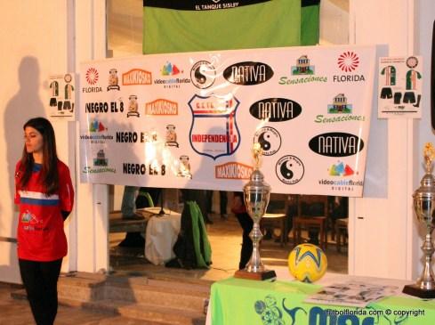 Vista del banner con los patrocinadores