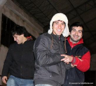 """Ezequiel Acosta, """"Manolo"""" Acosta y """"Caco"""" Bruno"""