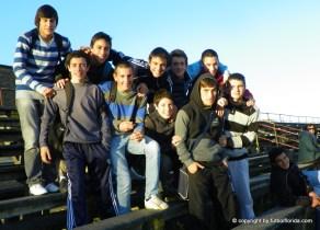 Los chicos de la Sub 17 de Alianza