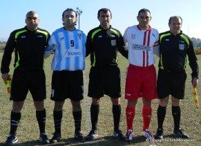 Aranda , Cabello, Alanis, Amaro y dos Santos