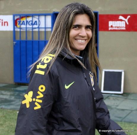 Emily Silva la DT brasileña