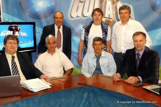 Walter Brajus estuvo en Gol a Gol. Foto Isidro Rocca