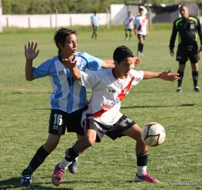 River Plate le ganó el clásico a Atlético en sub 15 y sigue invicto