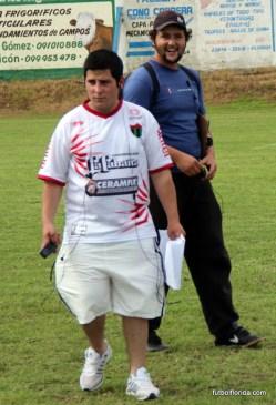 Victor Luzardo de la 33 y Jonathan Serena de la 105.5