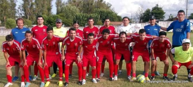 Selección de Bella Unión. Foto Jose E Paz