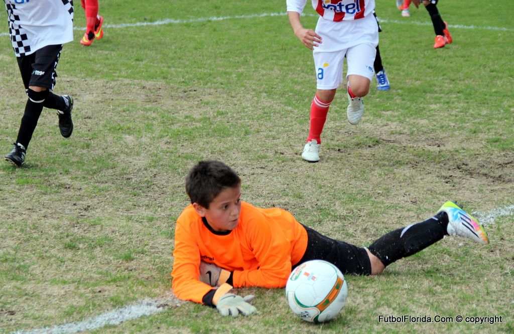 Fútbol infantil pone 4ta.