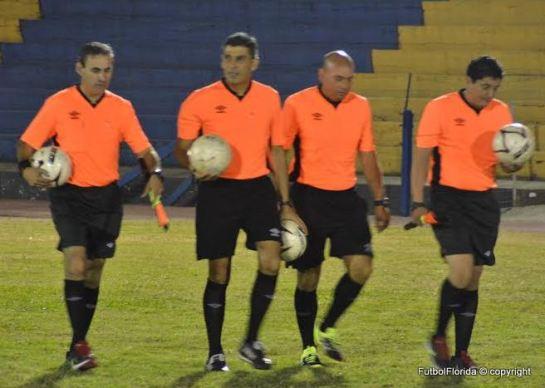 Guillermo Arismendi, Elio Gomez, Lincoln Milans y Raul Morán. Foto Victor D Rodriguez