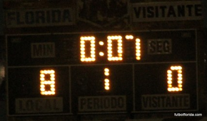 Florida 8-0 San Gregorio.