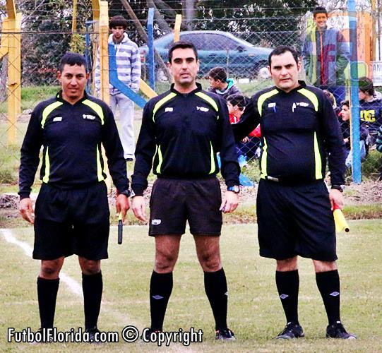 Carlos Otaiza, Daniel Corrado y Cesar Suarez