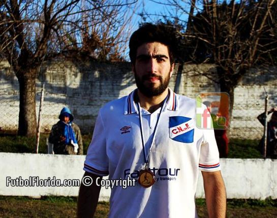 Rodrigo Leon, el JUGADOR ALBANES de la fecha. Foto Fanny Ruetalo