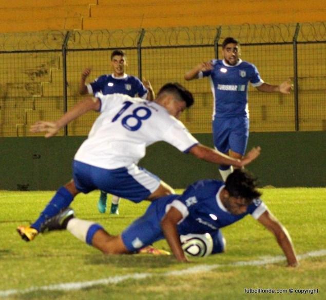 Zona Oeste y Maldonado juegan otro clásico. Foto Fanny Ruetalo