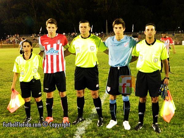 Andres Castro, asistentes y capitanes. Foto Julio Cesar
