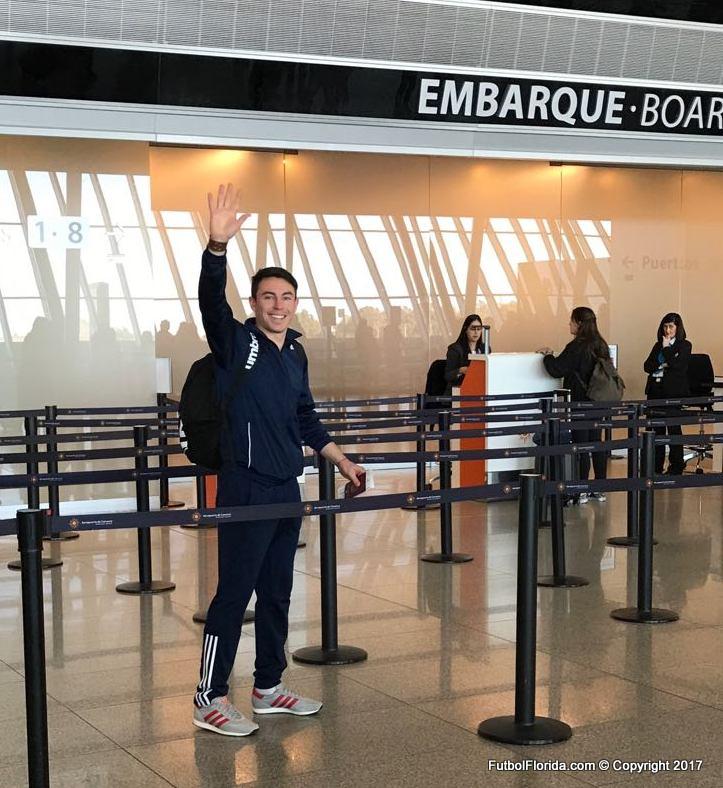 Flavio Scarone se fue a España