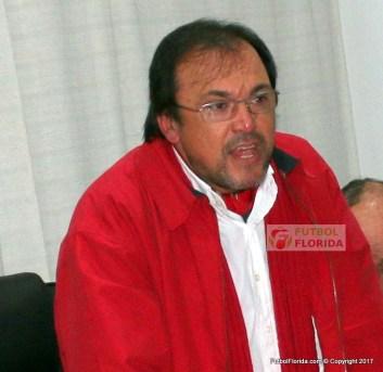El Presidente de la Confederación del Sur Sr Gonzalo Recuero,salió al cruce de los instructores