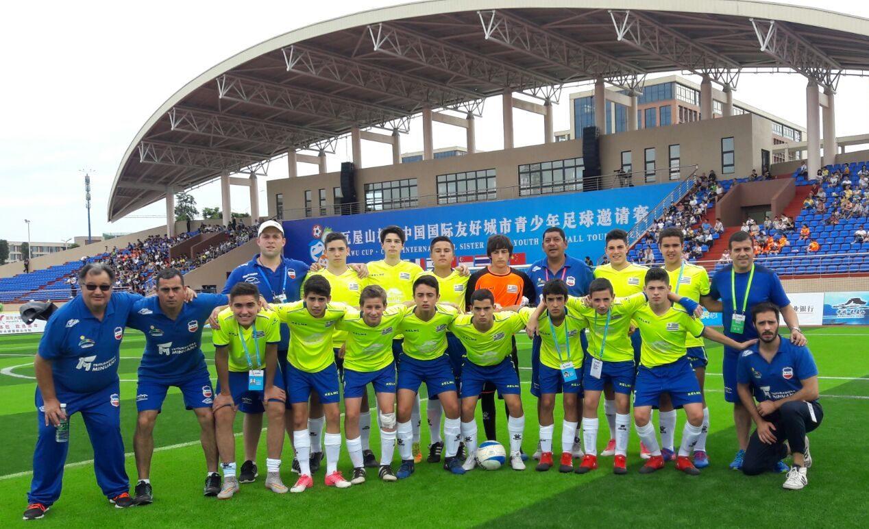 Campeones en China
