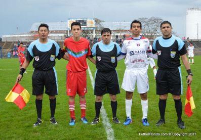 Pablo López, Miguel Piñeyro y Washington Medina. y capitanes. Foto Ramón Mesías