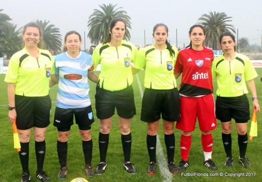 Luciana Aranda, Ximena Vique y María Isabel Godoy, Nancy Ripoll